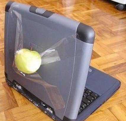 Them Apple products.
