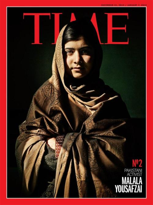 TIME Person of the Year Runner Up Malala Yousafzai