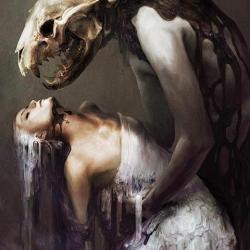 "fullmoonpagan:  ""His only wish was to touch"" by Ryohei-Hase"