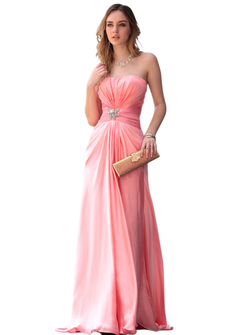 SARA IN PINK JEWELLED BRIDESMAID DRESS  SKU# 30610 Be the first to review this product Availability: In stock £220.00