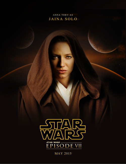 Anna Torv as Jaina Solo