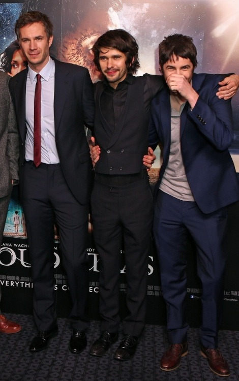 edenmariecat:  James D'Arcy, Ben Whishaw and JIm Sturgess.