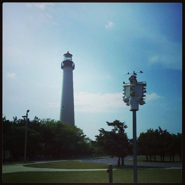 at Cape May Lighthouse