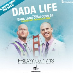 You ain't about dada life ? Who's going #dadalife #insomniac #edm #plur #rave #sf #whywerave #bayareaedmfam