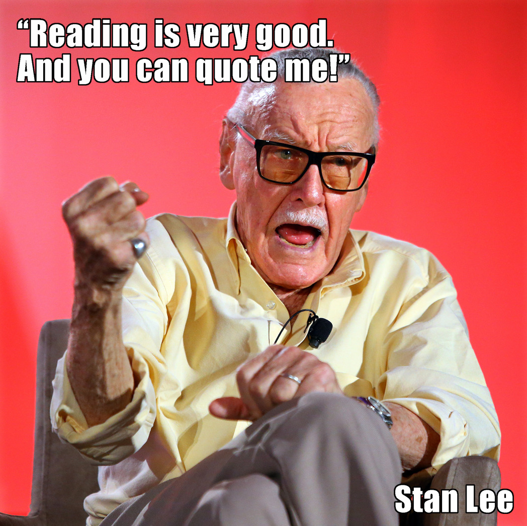 americanlibraryassoc:  Stan Lee at the 2014 ALA Annual Conference
