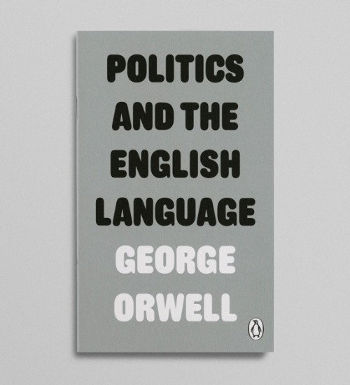 Really loving these new George Orwell covers, designed by David Pearson for Penguin.