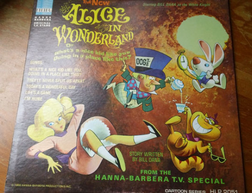Record of the Hanna-Barbera Alice (1966). It includes the songs and even tells the story; I was pleasantly surprised by how good this is! I wish they made a read-along booklet too. My first copy was extremely poor quality (it was part of a lot), so I...