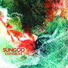 "Sungod - Contackt [Holodeck; 2013] Too many influences! I'm riddled with the prog-metal-synth-outer-jams of Sungod but who cares to extrapolate every touchstone? Sungod exist to bring your favorites together in one hell of a stage show, without so much as needing a performance for your cortex to picture the fog machine, the stunning laser light show, and the band's enigmatic entrance. ""Smell of Physiqal"" is angry Floyd, Waters and Gilmour taking their spats public. ""Gas is Better than Gas"" is synth-psych, the sort of psycho future Dennis Hopper fueled in visions never meant for public consumption. ""Comrade Voyager"" reminds me a tighter Bad Dudes, the 80s indulgence glam of ""Eat Drugs"" replaced with deeper diplomatic relations as arbitrated by kraut. This is air guitar licks, cushion drumming, and Goodwill dress-up at its most epic. This one doesn't miss a beat and is surely but the first of many knockouts from the next big (big being relative in the world of cassettes) thing."