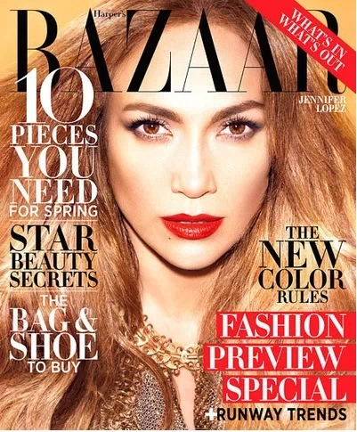 Jennifer Lopez is in the latest issue of Harper's Bazaar and she talks about her boyfriend, Casper Smart. Needless to say, she's head over heels. Click the pic for more.