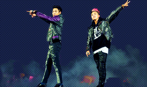 choi-top-hyung:  GD&TOP @ Special Final In Dome (Osaka, Japan)
