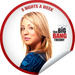 I just unlocked the The Big Bang Theory: Penny sticker on GetGlue                      268139 others have also unlocked the The Big Bang Theory: Penny sticker on GetGlue.com                  Congratulations, your table is now available! You've just unlocked Penny's sticker on GetGlue!  Make your meal a TV dinner with The Big Bang Theory, now on 5 Nights a Week! Share this one proudly. It's from our friends at Warner Bros. Television.