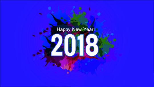 Hình Nền Chúc Mừng Năm Mới 2018 đẹp nhất