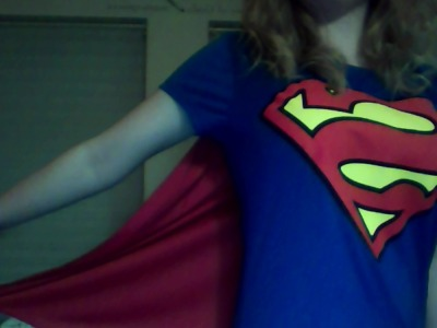 my mom buys me shirts with capes.