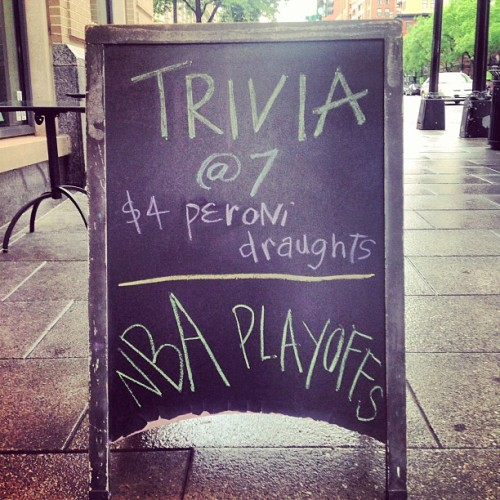 Forget the Rain, Come have Fun! #DC #HappyHour #Trivia