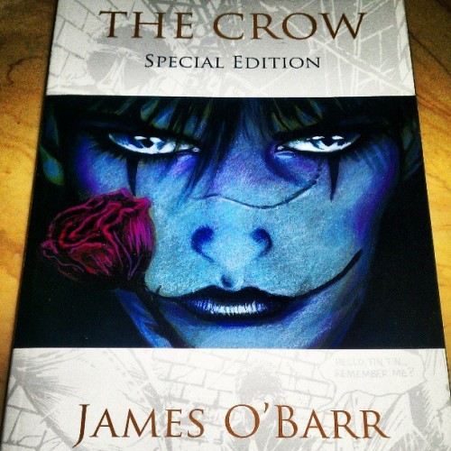 Courtesy of @aniameteor #TheCrow #JamesOBarr