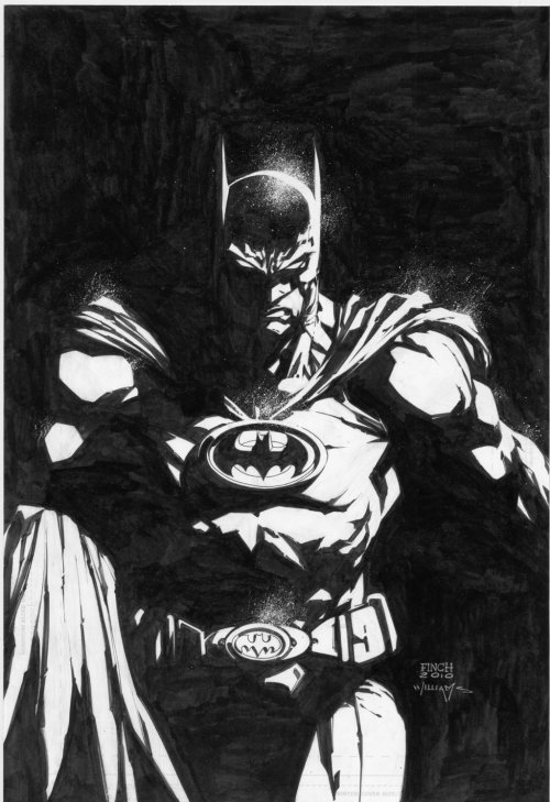 Batman: The Return by David Finch.