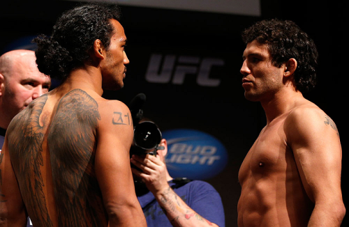 Ben Henderson vs. Gilbert Melendez - Weigh-ins