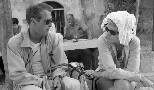 iheartpaulnewman:  Here's one you don't often see by Leo Fuchs on the Exodus set.