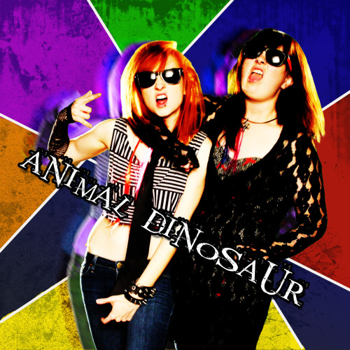 sergeantpanda:  Squaresville album art for Animal Dinosaur.