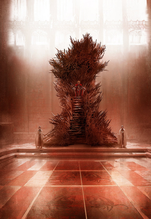 ladoddsy:  streetlightarson:  perfectperfidy:  boxlunches:   The Iron Throne as described in the novels, officially endorsed by GRRM on his blog as the most accurate artistic representation thus far. By artist Marc Simonetti.  Oh  What the fuck that isn't safe  No, it's not. The histories talk about how the throne is cruel to unworthy kings. Jaime would talk about how Aerys Targaryen would constantly be covered in scabs from sitting on the throne carelessly.  'No man should sit comfortably upon the throne' It is meant to be an ugly, monstrous beauty. And several times during the books Joffrey cuts himself on throne.