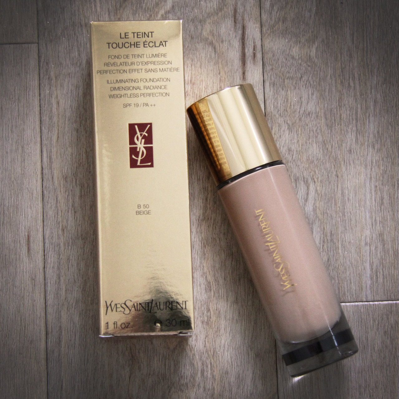 Le Teint Touche Eclat Foundation… I recently picked up this great new foundation from YSL. I am not normally a big fan of foundations as I find them to heavy, but this one is perfect. Its not to heavy so you don't feel like your wearing to much make up and gives a great even coverage. The foundation come in 22 shades making sure you get the perfect match to your skin. I would defiantly recommend it.  Magpie x