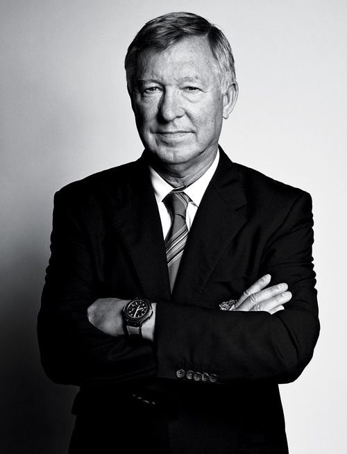 sarcasmismyvirtue:  Sir Alex Ferguson; Legend.