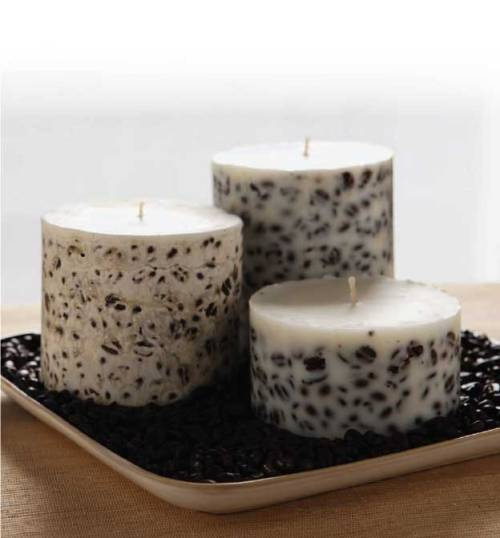 Coffee Candles {How to} Found at: motherearthliving