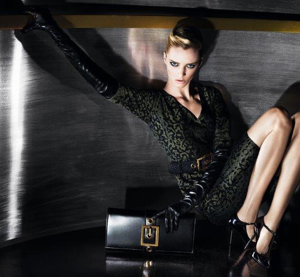 stormtrooperfashion:  Daria Strokous by Mert & Marcus for the Gucci Pre-Fall 2013 Campaign