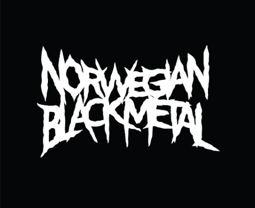 Did this last night for a new project. Black metal type is quite the bitch to figure out :)