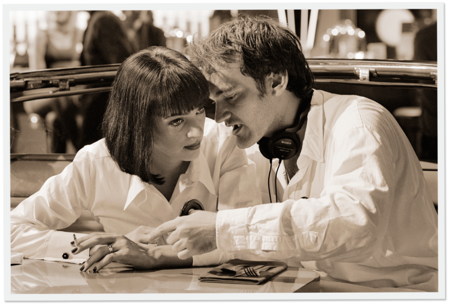 bohemea:  The Making of Pulp Fiction in Stills, Snapshots, and Script Pages