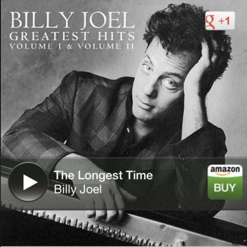 One of my favorite sings of all time ♥♥ #forthelongesttime #BillyJoel