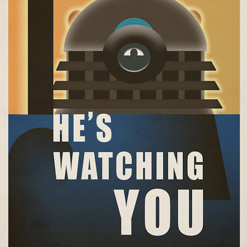 Time War Propaganda Poster