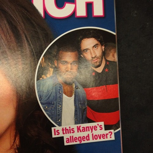 Smh. These magazines are a joke. Trying to knock @kanyewest off his game.
