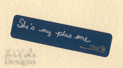 Just permanently lowered the price of the She's My Plus One bookmark to $2