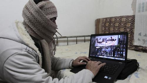 How Skype Is Helping Topple A Dictator In Syria This article from Mashable gives us another reason to love technology.  Skype is the go-to social network for communication between rebels, anti-government activists, journalists and officials inside and outside of Syria. Why? Skype uses wiretapping-resistant Voice over IP (VoIP) technology, making it safer for transmitting messages while under the watchful eyes and ears of government censors. It's free to download and easy to use, both positives for cash-strapped rebels and activists. Its video-based chatting makes it easier to identify the person on the other line, important when verifying information as legit amidst the fog of war. And it provides an easy way for Syrians to gather electronically in areas where assembling in person poses too great a security risk.  [Image:via Khalil Mazraawi/AFP/Getty Images]