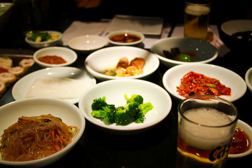 ilikeasianfood:  Park's BBQ Banchan by dabuda on Flickr.