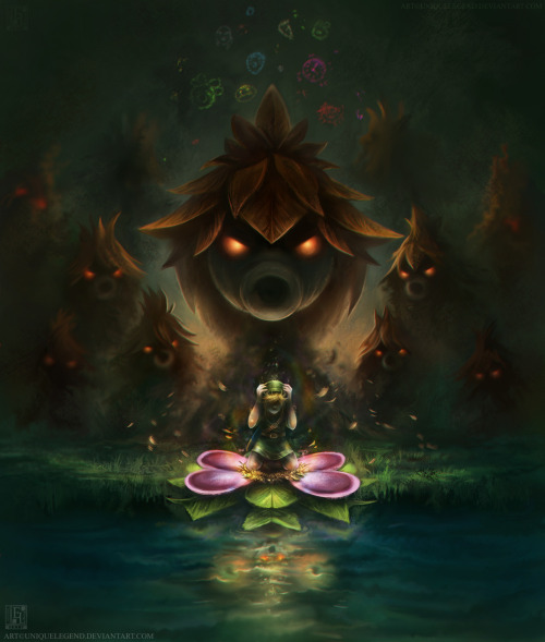 xfearcutsdeeperthanswords:  Majora's Mask: the Transformation by uniqueLegend