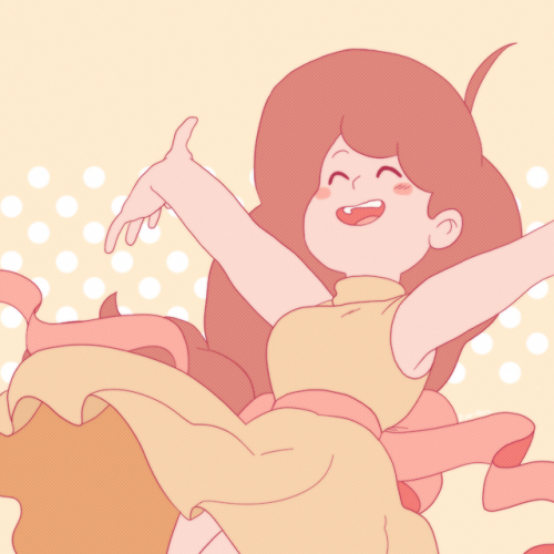 my art bee and puppycat