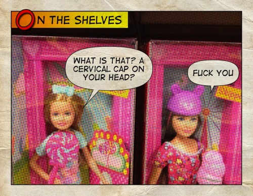 Don't get caught with a sad-ass accessory around a kid Barbie.  Tweet This Bitch