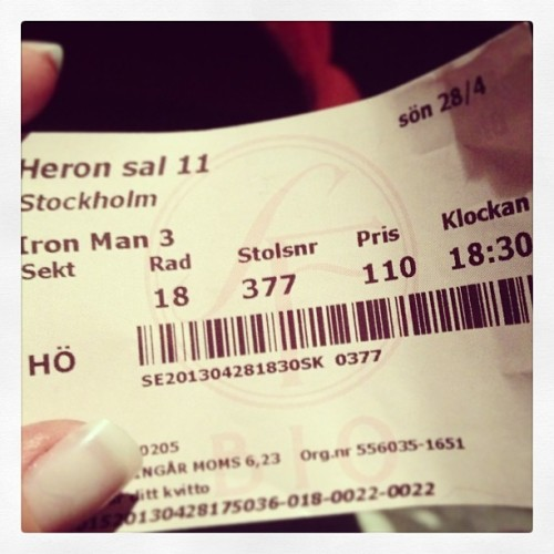 Woop Iron Man 3 men @theabucht & @easycowboy <3