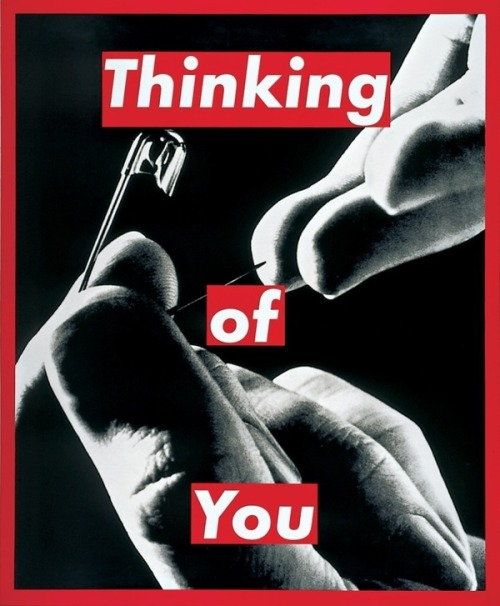 atavus:  Barbara Kruger - Untitled (Thinking of You), 1999–2000