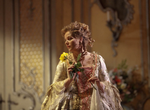 "Watched ""Rosenkavalier"" for the billionth time and I teared up, as usual, during the Marschallin's monologue. Her commentary on the inexorability of time feels more relevant to me than ever. I love the moment where she talks about waking up in the middle of the night to stop the all the clocks.No matter how many times I see this opera, I am always moved by it. The characters just feel so real and profoundly human. Despite the drubbing Renee Fleming took for ""Armida"" and ""Traviata,"" her Marschallin is the stuff of legend. She moves me to tears and touches my soul. Isn't that why we go to the opera in the first place""?"