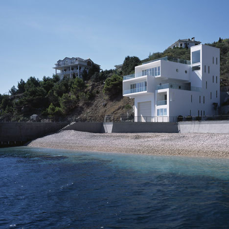 designed-for-life:  Foros Yacht House by Robin Monotti Architects  Dezeen   Foros, Ukraine
