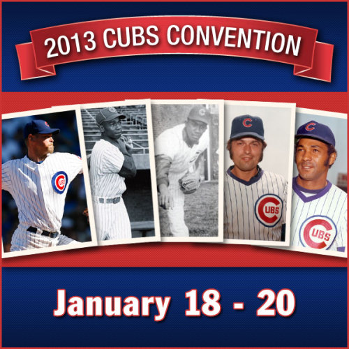 Meet Cubs legends such as Kerry Wood, Ernie Banks, Fergie Jenkins, Milt Pappas, Billy Williams and others at the 28th annual Cubs Convention next week!