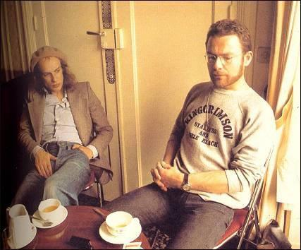Tea- Fripp ,Eno and a photographer?