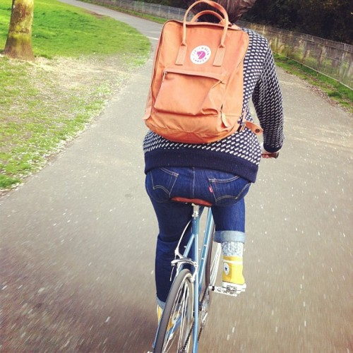 deargemma:  First outing on my new bike! (at Hove Park)