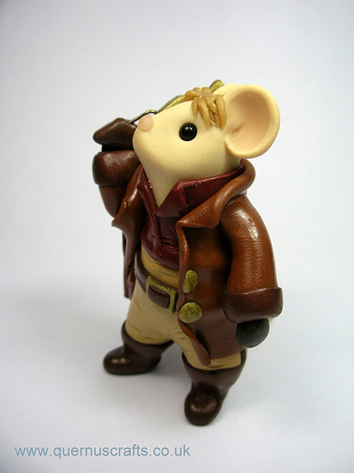 MOUSE REYNOLDS. (via Mice as Firefly, Harry Potter, Miyazaki, Lord of the Rings Characters | The Mary Sue)