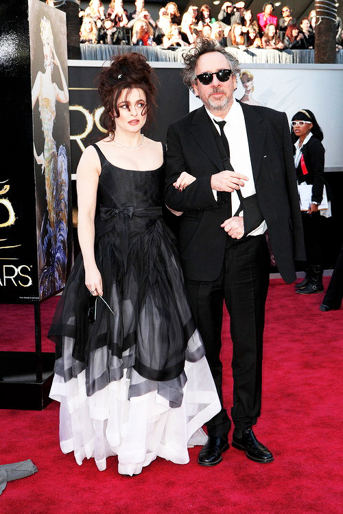 Helena Bonham Carter & Tim Burton | Oscars Red Carpet