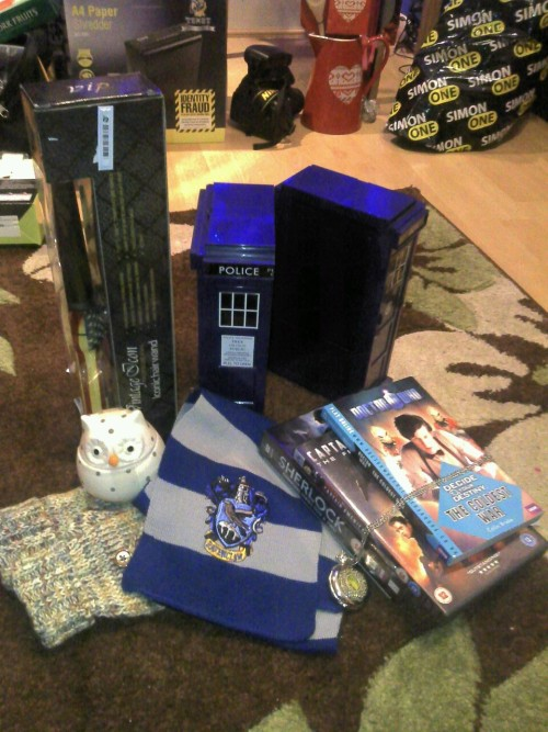 Some of my Christmas presents!