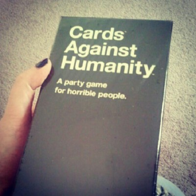 Look what showed up today! #cardsagainsthumanity #games